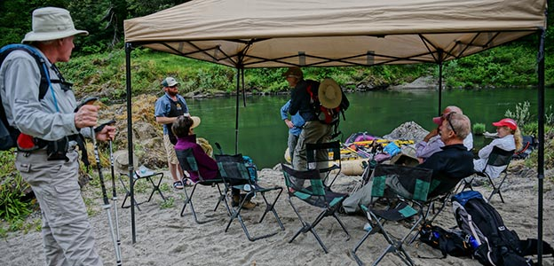 Raft Supported Hiking Trips along the Rogue River