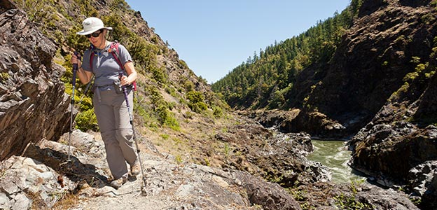 Hiking Trips on the Rogue River Trail for Women
