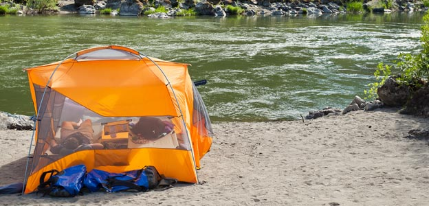 Hiking and camping the rogue river