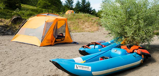Camping and Rafting on the Rogue River