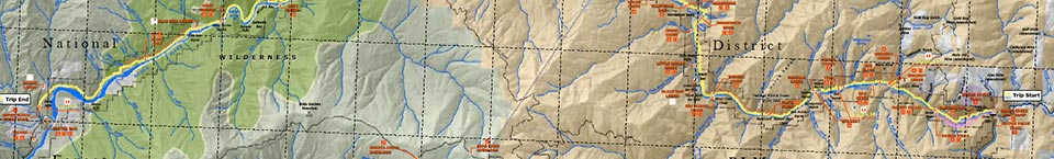 Rogue River Trail Map