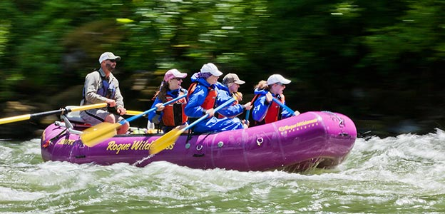 Group Rafting Trips on the Rogue River