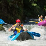 Chris Santella on the Rogue River